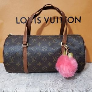 Authentic LV Papillon Monogram 30